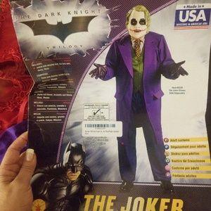 Mens Joker Costume (brand new)
